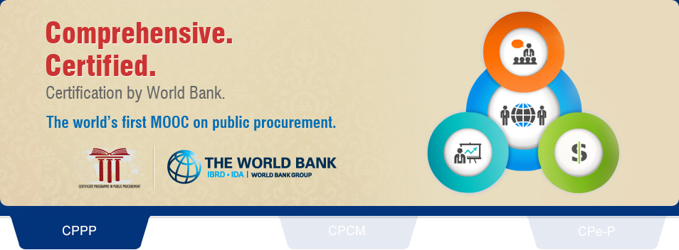 The world's first MOOC in public procurement - certified by world bank