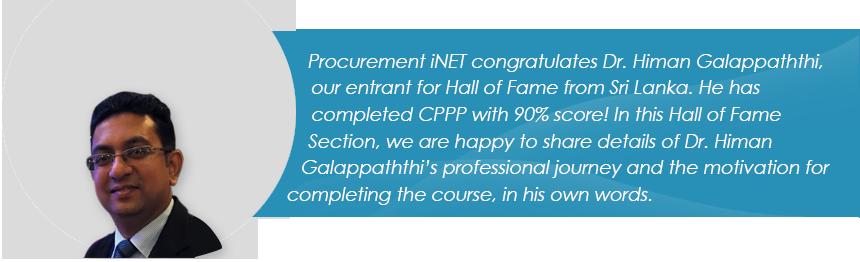 Dr. Himan Galappaththi