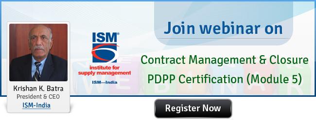 Contract Management & Closure – PDPP Certification (Module 5 ...