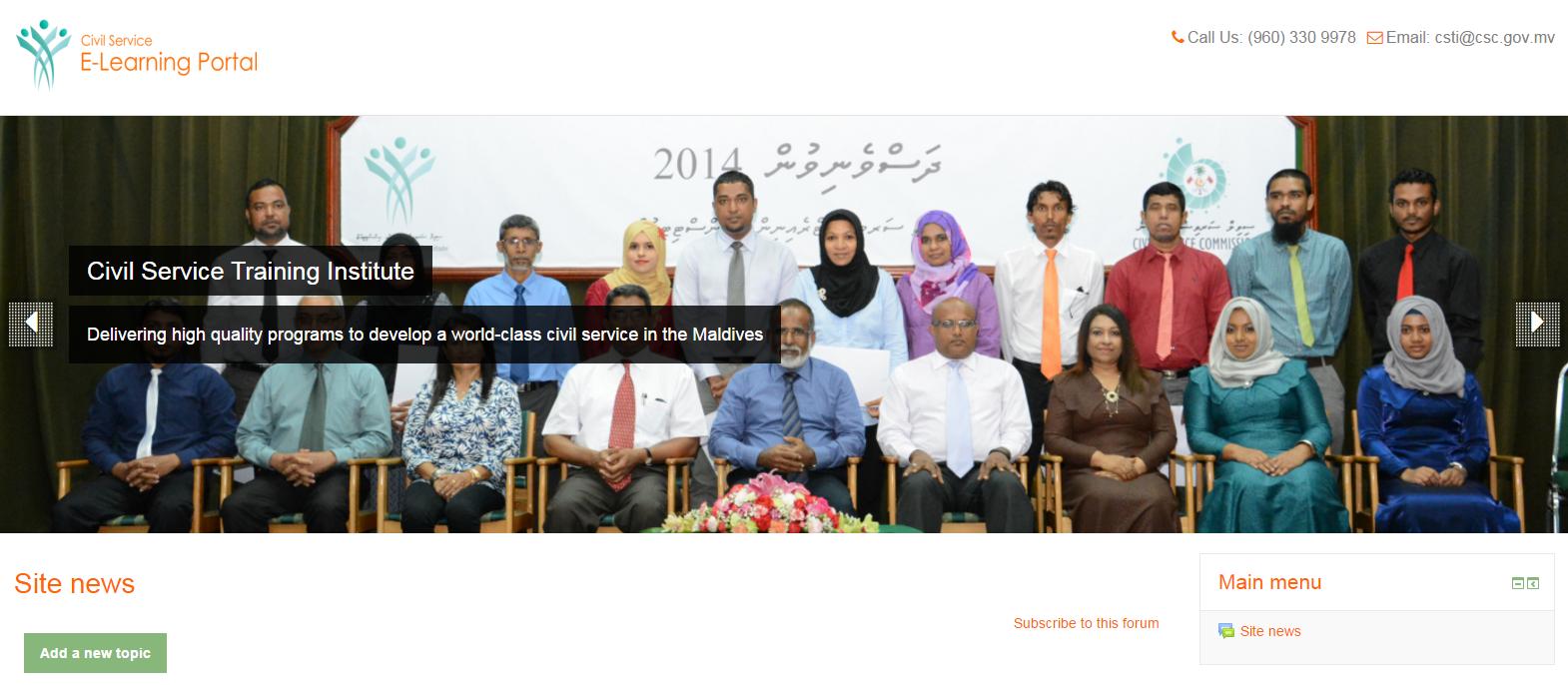 Civil Service Training Institute Maldives | Public